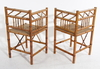 Stolar, bambu, ostasien, 1900-talets första hälft.