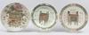 Parti orientaliska fat, 6 st, porslin, kina, 1900-tal.