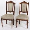 Stolar, ett par, ny-louis xvi. 1800-tal.