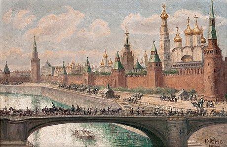 View of the kremlin.
