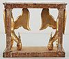 Konsolbord. karl johan, 1800-talets början.