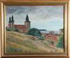 Larsson, c o , olja på pannå, sign o dat 1951