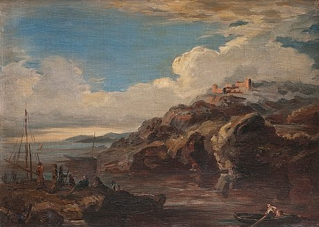 Johan knutson, view of the coast.