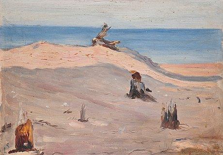 Hugo simberg, sand dunes.