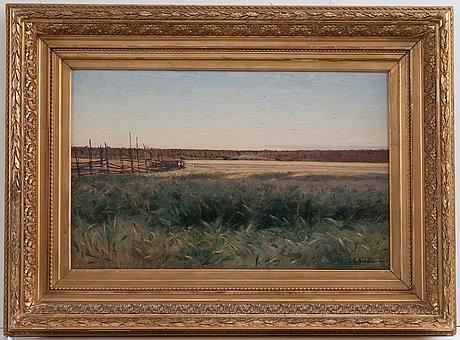 Josif evstaf'evic krackovskij, landscape.