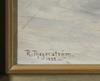 ThegerstrÖm, robert. olja på pannå, sign o dat 1892.