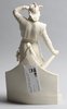 Skulptur, parian, efter dyfverman, gustafsberg 1921.