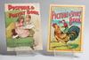 BarnbÖcker, 2 st samt serietidningar, 2 st. tidigt 1900-tal.