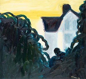 """411. Peter Dahl, """"Farmors hus IV""""."""