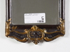 Spegel, rokokostil, sekelskiftet 1800/1900.