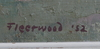 Fleetwood, wiliam, olja på duk, sign o dat. -52.