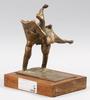 Skulptur. brons.