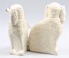 Figuriner, ett par, porslin, staffordshire, 1800/1900-tal.