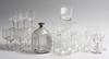 Parti glas, 32 delar, 1800/1900-tal.
