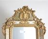 Spegel med konsol, nyrokoko, 1800-talets slut.
