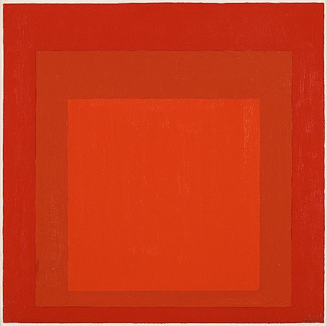 "Josef albers, ""study for homage to the square: 'wet and dry' ""."