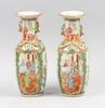 Vaser, ett par, porslin, 1800/1900-tal.