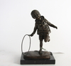 Skulptur, efter c.h chiparus, brons, paris.