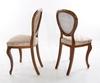 Stolar, ett par, nyrokoko 1800-talets andra hälft.