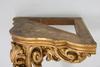 HÖrnkonsolbord, nyrokoko, 1800-talets andra hälft.