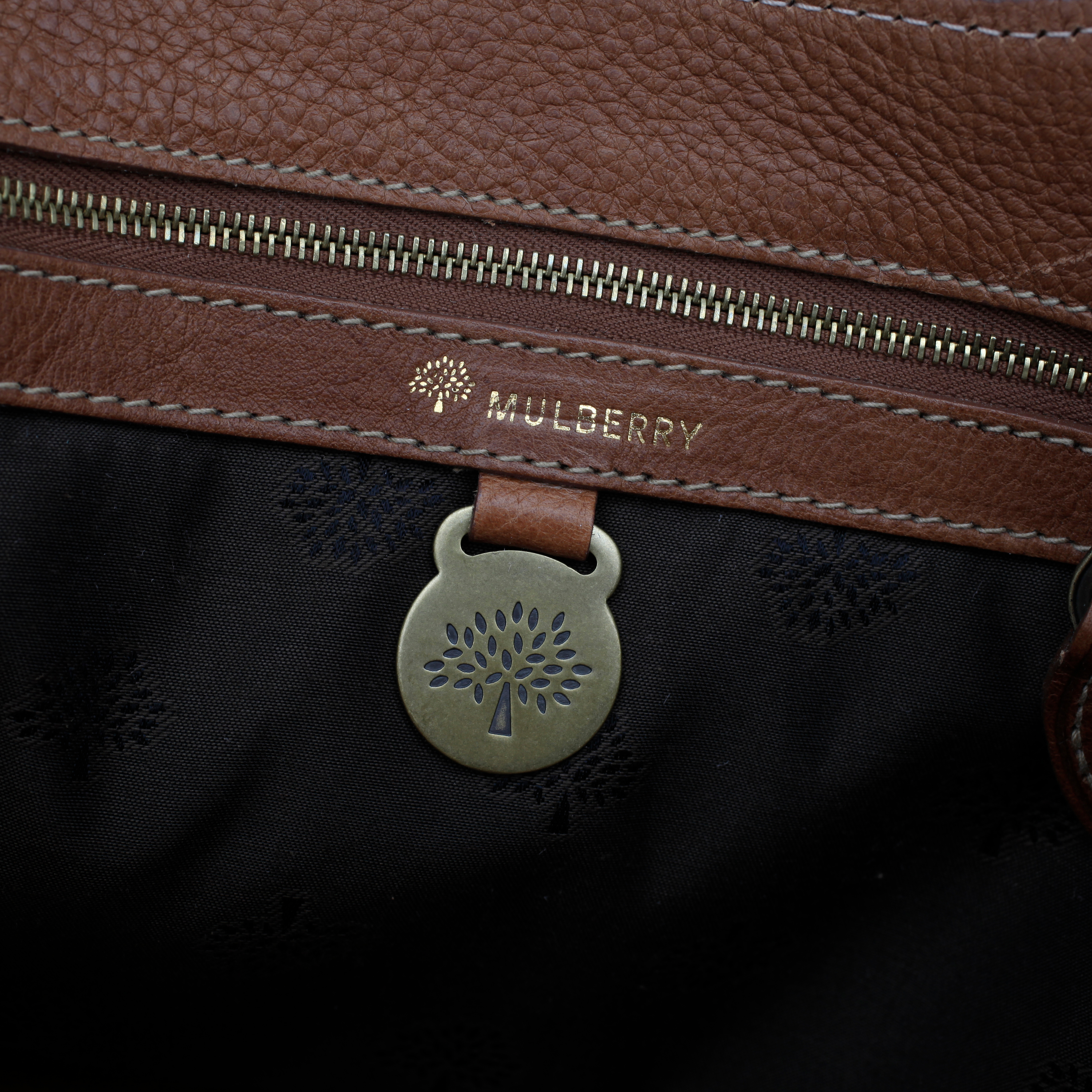 450b43faad9 MULBERRY, a brown leather