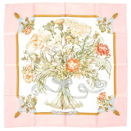 "HermÈs, silk scarf, ""regina""."