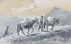 Langlet, alexander, akvarell med täckvitt, sign o dat bosnien -49.