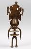 Skulptur, mässing, afrika, 1900-tal.