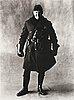 "Irving penn, ""motorcycle policeman, new york, 1951""."