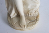 Skulptur, alabaster.