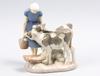 Figurin, porslin, axel locher, bing & gröndahl.