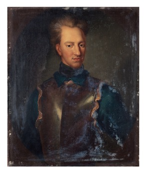 """325. David von Krafft Attributed to, """"Karl XII"""" (1682-1718)."""
