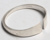 Armring. sterling silver. debe-form, inga britt-dahlquist & olof barve, malmö 1963.