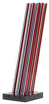 "214. Lars-Erik Falk, ""Modul skulptur i färg B101"" (Module sculpture in color B101)."
