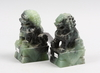 Figuriner, ett par, sten, ostasien, sent 1900-tal.