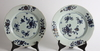 Tallrikar, ett par, porslin, kina, 1700-tal.