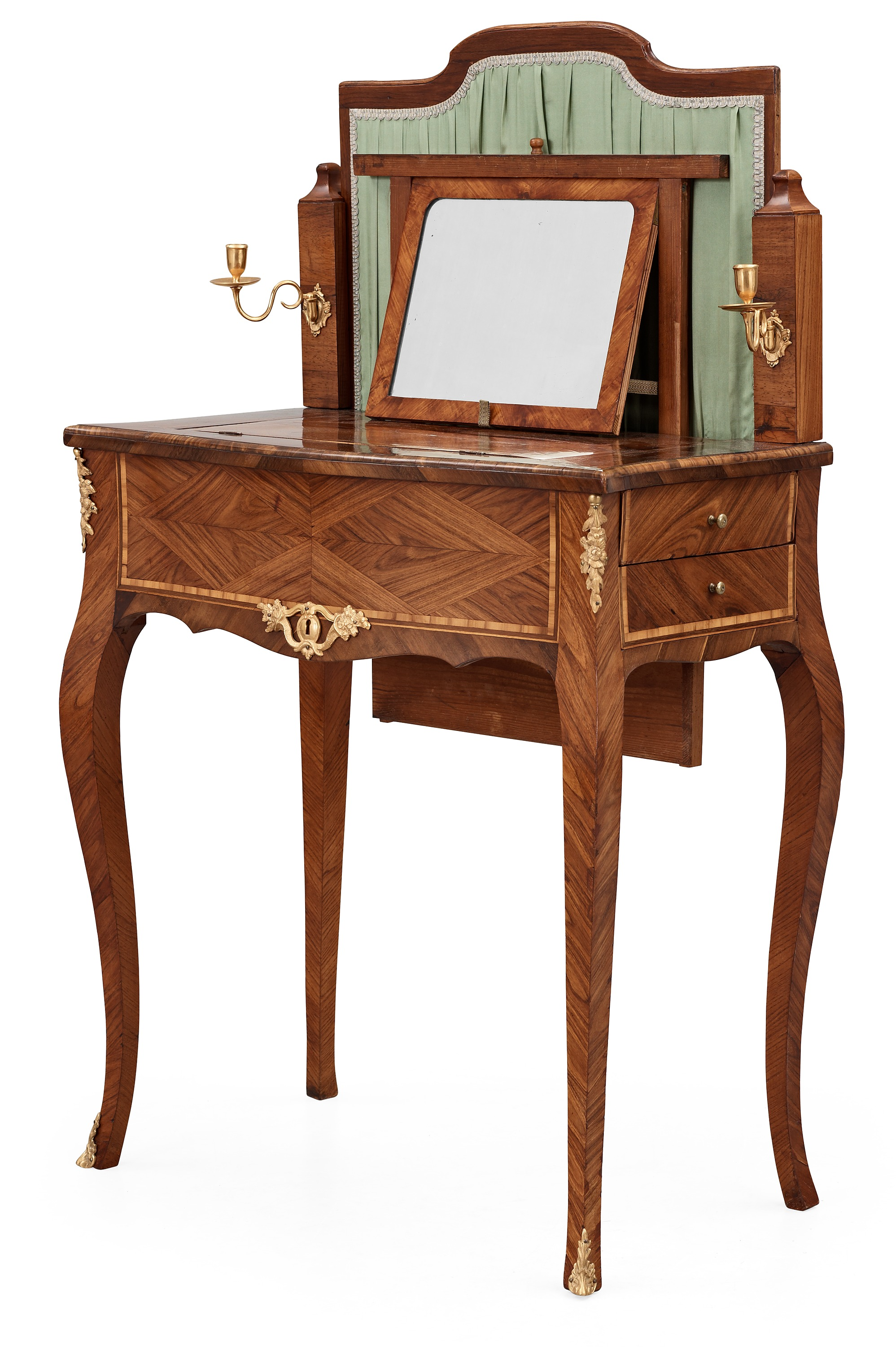 A Swedish Rococo 18th Century Dressing Table In The Manner