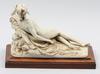 Figurin, porslin, italien, sent 1900 tal