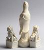 Figuriner, 3 st, porslin, kina, 1900 tal