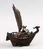 RÖkelsekar, brons, ostasien, 1900-tal.