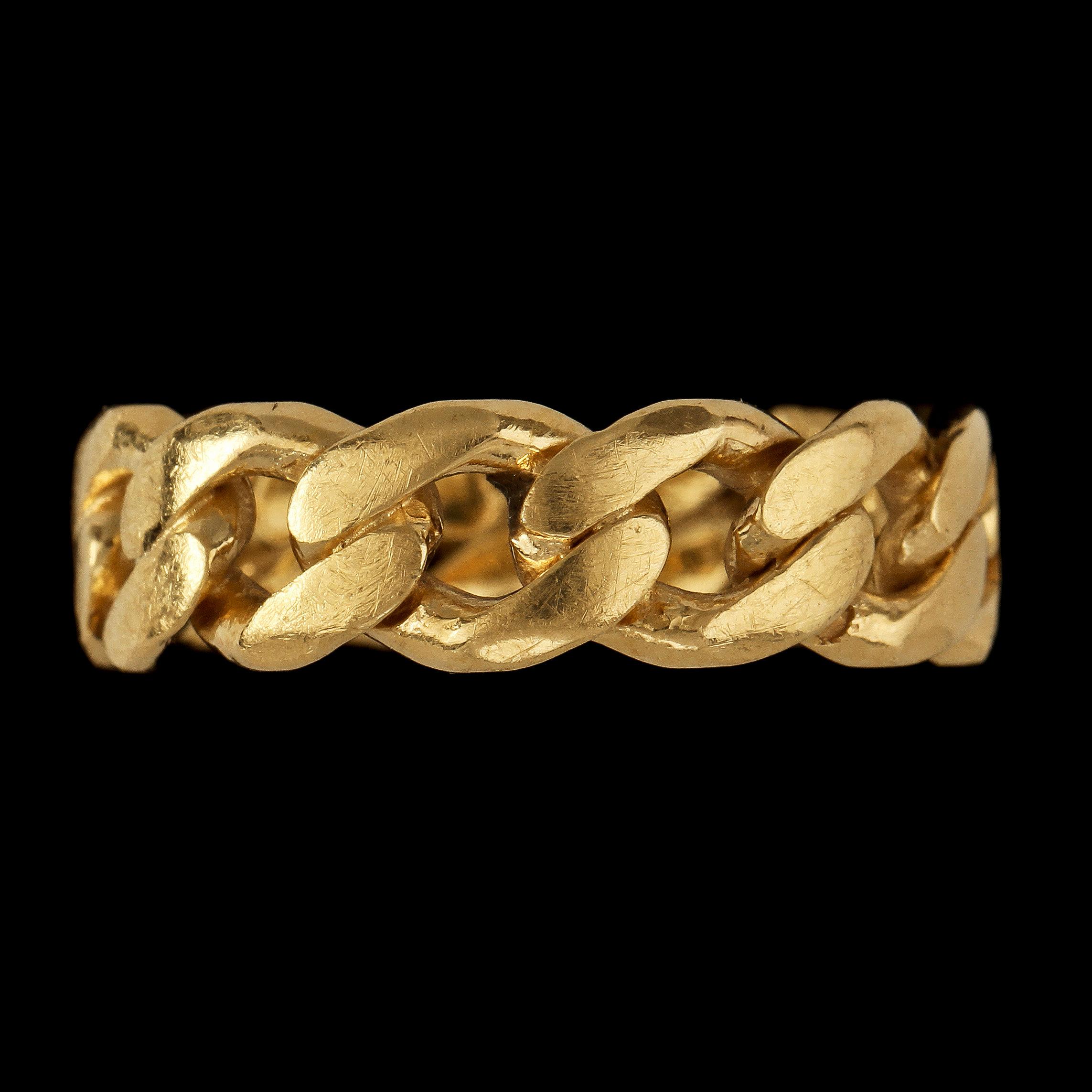 7c8aa7c6011f RING, 18k guld, GHA, Guldfynd, Hallbergs Guld och Albrekts Guld, 1900-tal.  Vikt 8 g. - Bukowskis