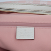 Gucci, a pink monogram canvas handbag.