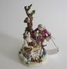 Figurin, porslin, 1800-tal.