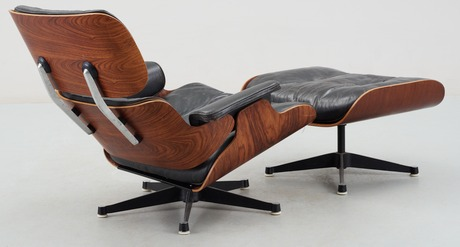 A Charles U0026 Ray Eames Lounge Chair And Ottoman, Herman Miller,   Bukowskis