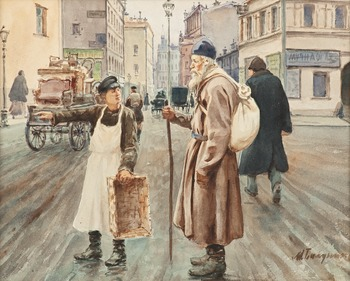 315. Mihail Abramovich Balunin, DEN GAMLE RESENÄREN.