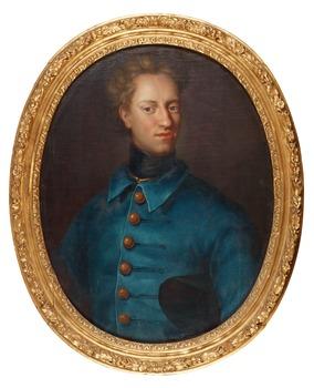 """332. David von Krafft, """"King Karl XII"""" (1682-1718)."""
