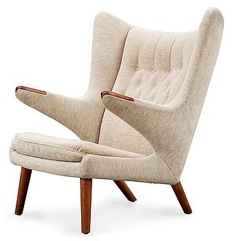 16. A Hans J Wegner 'Papa Bear' easy chair, AP-stolen, Denmark.