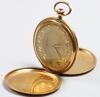 Fickur, 18 k guld, eslöv.
