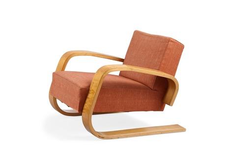 Alvar aalto, an armchair no 400.
