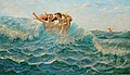 HANS DAHL, Bathing nymphs. Signed Hans Dahl...
